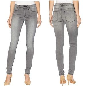 Hudson Jeans Nico Mid-Rise Skinny in Trooper Grey